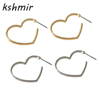 Act the role ofing is tasted Contracted joker temperament gold silver Love the earrings  Peach heart fashion earrin Exquisite 1