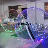 led lighting Walk on Water Ball inflatable Dance Ball water walk balls for events imported zipper PVC Water Walking Balles