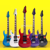 D 150 24 Frets 6 Strings Electric Guitar Wood Basswood Panel Maple Neck Guitarra With Bag for Beginner Professional Performance