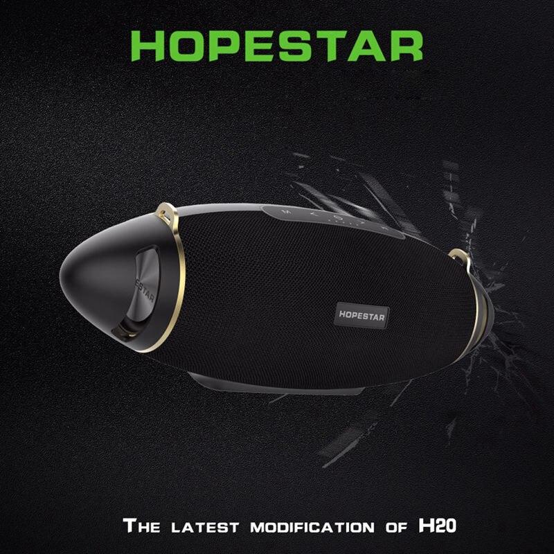 HOPESTAR H20 Rugby 30W haut-parleur Bluetooth colonne Pc sans fil Portable Mini étanche méga basse stéréo extérieur caisson de basses Tf Usb - 3