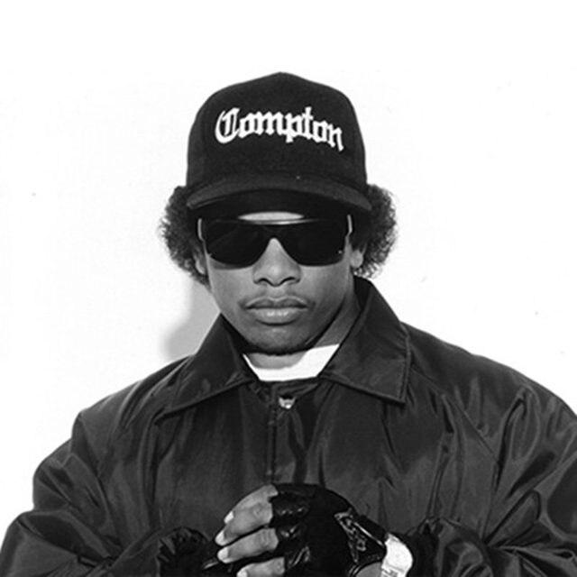 West Beach Gangsta City Crip N.W.A Eazy-E Compton Skateboard Cap Snapback  Hat Hip Hop Fashion Baseball Caps Adjust Flat-Brim Cap 20bc8440e474