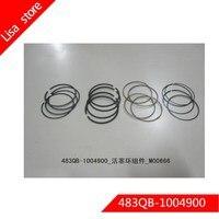 483QB 1004900 Engine Piston Ring Set for BYD F6,G3,M6,L3,S6,G3R,G6 483QB engine