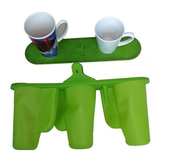 FREE SHIPPING Mug Cup Clamp Silicone Rubber Mug Fixture For 3pcs 12oz/17oz Latte Mugs 3D Sublimation