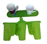 Frete grátis caneca copo braçadeira silicone borracha caneca dispositivo elétrico para 3 pçs 12 oz/17 oz latte canecas 3d sublimação