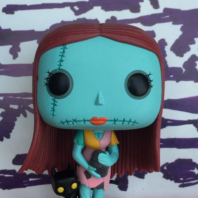 imperfect exclusive funko pop second hand the nightmare before christmas sally vinyl figure collectible model