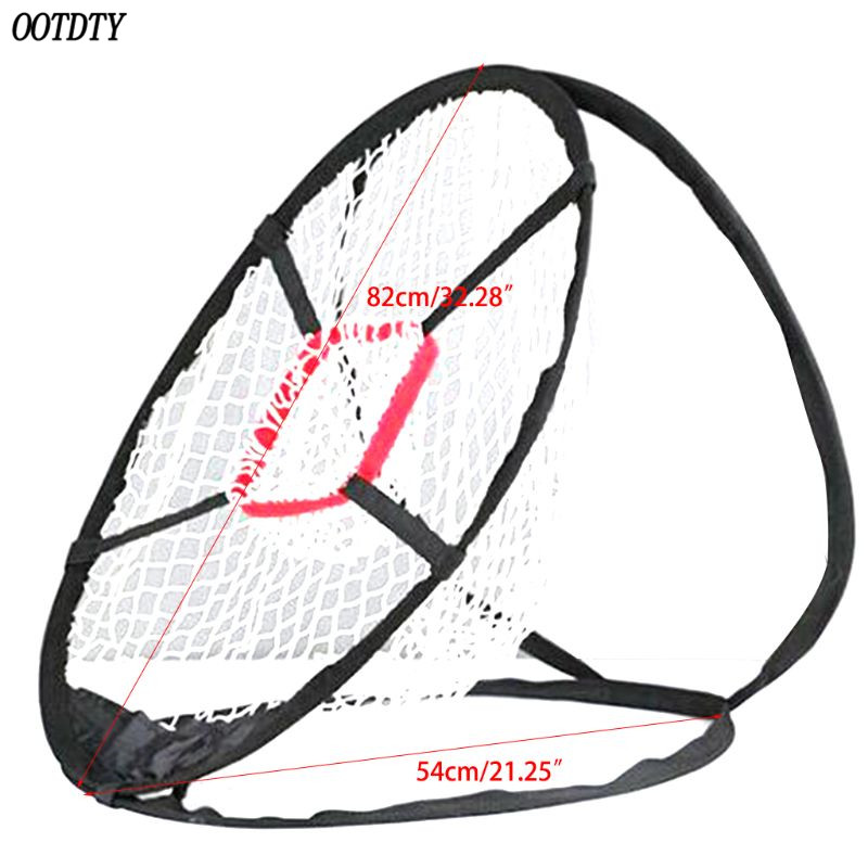 Image 5 - OOTDTY Pop Up Golf Chipping Net Tainer Aid Foldable Target Net For Accuracy Swing Practice-in Golf Training Aids from Sports & Entertainment