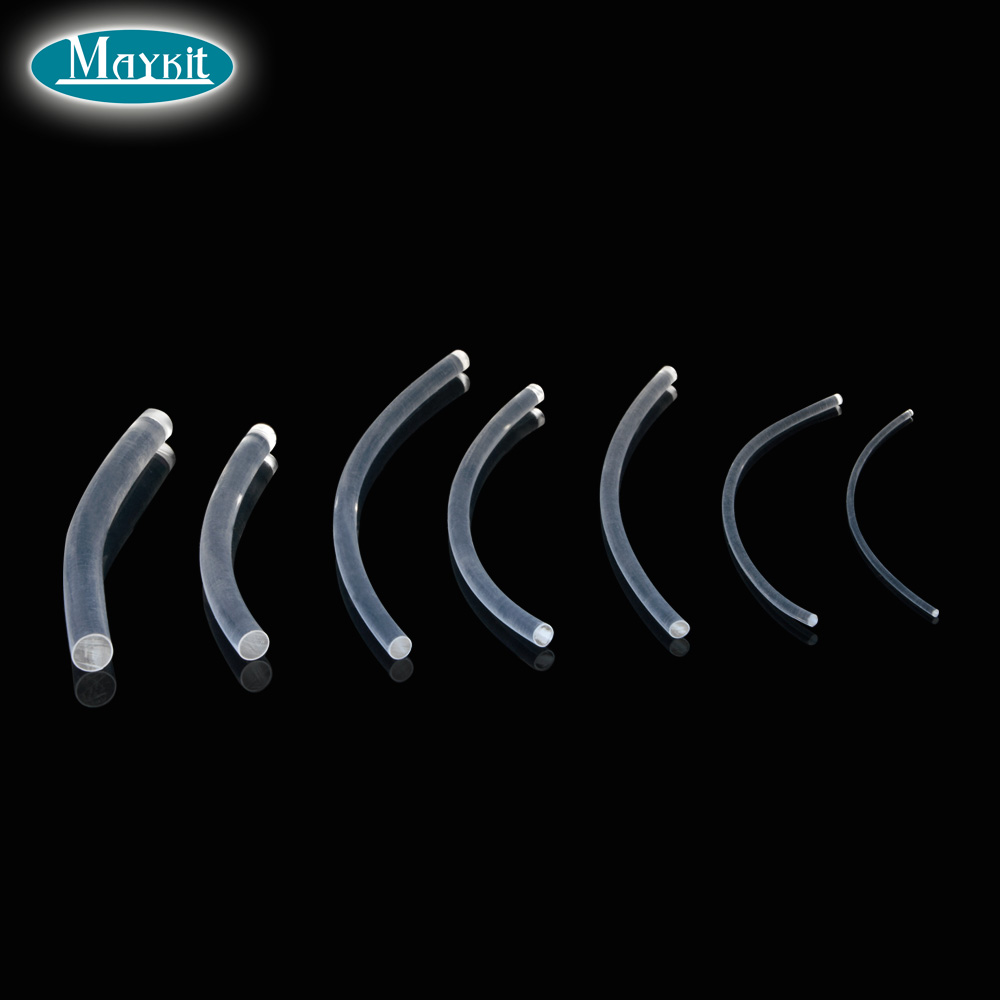 Maykit Transparent side glow plastic PMMA fibra optica cable diameter 2mm/3mm/5mm/6mm/8mm/10mm