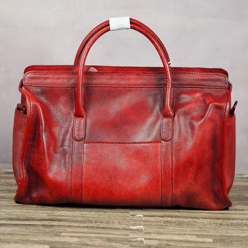 European and American style female genuine leather boston bag Women first layer of cowhide pillow tote handbag big casual bag polo women golf club clothing bag handbag nylon first layer of leather