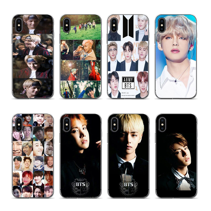 Cellphones & Telecommunications Half-wrapped Case Apprehensive Bts Bangtan Boys Taehyung Kpop Music Soft Silicone Black Cover Case For Iphone 5 5s Se 6 6plus 7 7plus 8 8plus X Xs Xr Xsmax Bringing More Convenience To The People In Their Daily Life