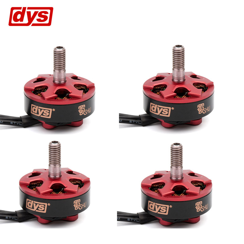 DYS Samguk Series Shu 2306 2250KV 2500KV 2800KV 3-4S Brushless Motor for RC Models Multicopter Spare Part Accs VS Emax ldarc 200gt part xt1806 1806 2500kv 3 4s brushless motor black silver for rc multicopter drone fpv racing spare part accessories