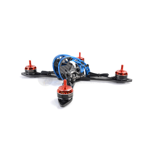 DIY mini FPV drone MANGO C027 210mm 5 pure carbon fiber frame unassembled 5mm CNCT6 body rc quadrocopter mini drone 210mm 210 pure carbon fiber drone dron helicopter frame kit motor cover for lisam qav210