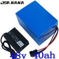 48v 1000w 1500w 2000w battery 48V 40AH Electric Bike battery 48V 40AH electric scooter battery 48V Lithium battery with charger