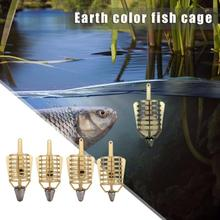 Yellow Boat Carp Fishing Bait Feeder Cages Lure Holder Baske