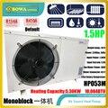 18, 000BTU моноблок Hi-COP источник воздуха тепловой насос водонагреватель для рестуранта мытья, пожалуйста, свяжитесь с нами о стоимости доставки