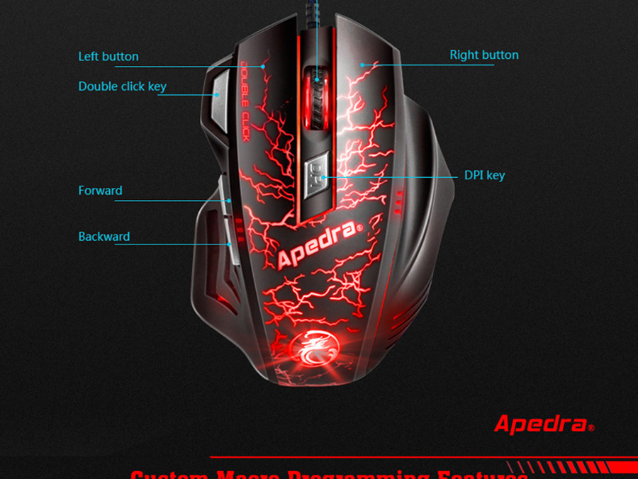 Professional USB Wired Gaming Mouse Professional USB Wired Gaming Mouse HTB1lJEPSFXXXXaLXFXXq6xXFXXXd