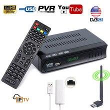 KOQIT HD 1080P DVB-S2 High Definition Digital Satellite Receiver DVB-S/S2 Receptor Cline Dollby AC3 WIFI RJ45 Lan Youtube FTA
