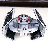 722pcs Lepin 05030 Star Series War Vader Set Tie Advanced VS A Toys Wing Star Fighter