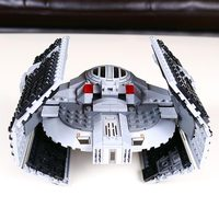 722pcs Lepin 05030 Star Series War Vader Set Tie Advanced VS A Toys Wing Star Fighter