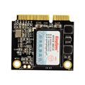 128 GB mSATA Mini Módulo de Medio Tamaño SATAIII SSD Unidad de Disco Duro más rápida velocidad de escritura para asus s46cb para dell vostro 5470 portátil MEDIADOS