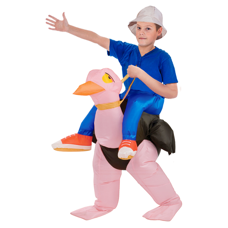 Birthday Gift Inflatable Ostrich Child Fancy Dress Costume