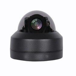 5MP wysokiej rozdzielczości kopuła Pan Tilt Zoom ahd kamera cctv 2.8-12MM Auto zmiennoogniskowy czarny Mini kryty strona główna Secrutiy Infared Camera