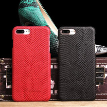 Luxury Leather Cover For iPhone 7 plus Case Snakeskin pattern Back Cases for Apple iphone Phone Bags Coque