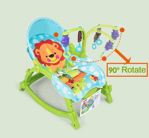 Image 3 - Baby Throne Baby Music Portable Rocking Chair