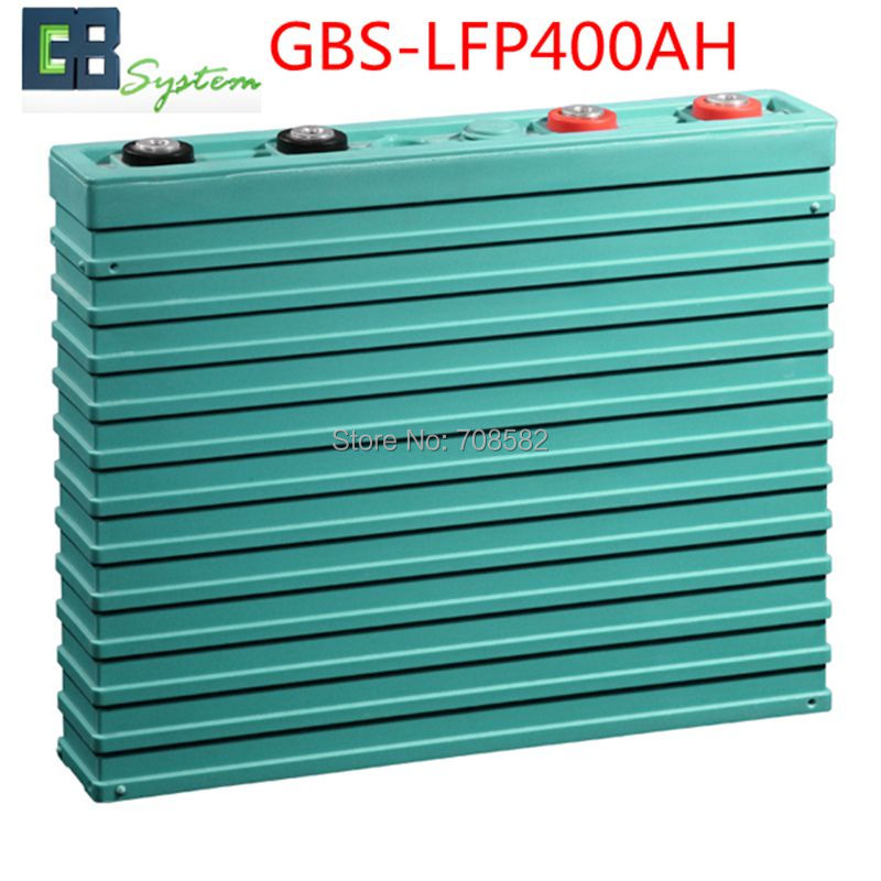 1pcs GBS LIFEPO4 Battery 3.2V400AH for electric car/ solar/UPS/energy storage etc solar energy modelling and assessing photovoltaic energy