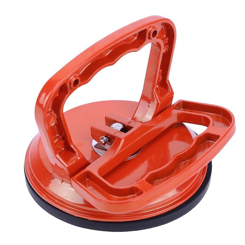 De aleación de aluminio individual garra de vidrio tonto manejar extractor elevador abolladuras removedor de piso de baldosas de cerámica ventosa pantalla herramientas