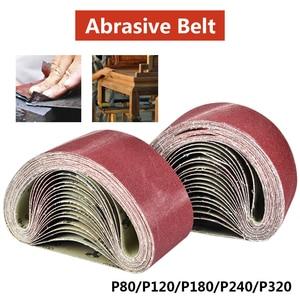 Image 2 - 533x75mm Sanding Belts 80 320 Grits Sandpaper Abrasive Bands for Sander Power Rotary Tools Dremel Accessories Abrasive Tool