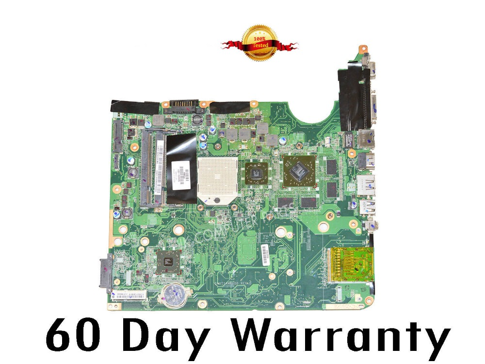 Top quality , For HP laptop mainboard DV6 DV6-1000 509450-001 laptop motherboard,100% Tested 60 days warranty top quality for hp laptop mainboard dv7 dv7 4000 630984 001 hm55 laptop motherboard 100% tested 60 days warranty