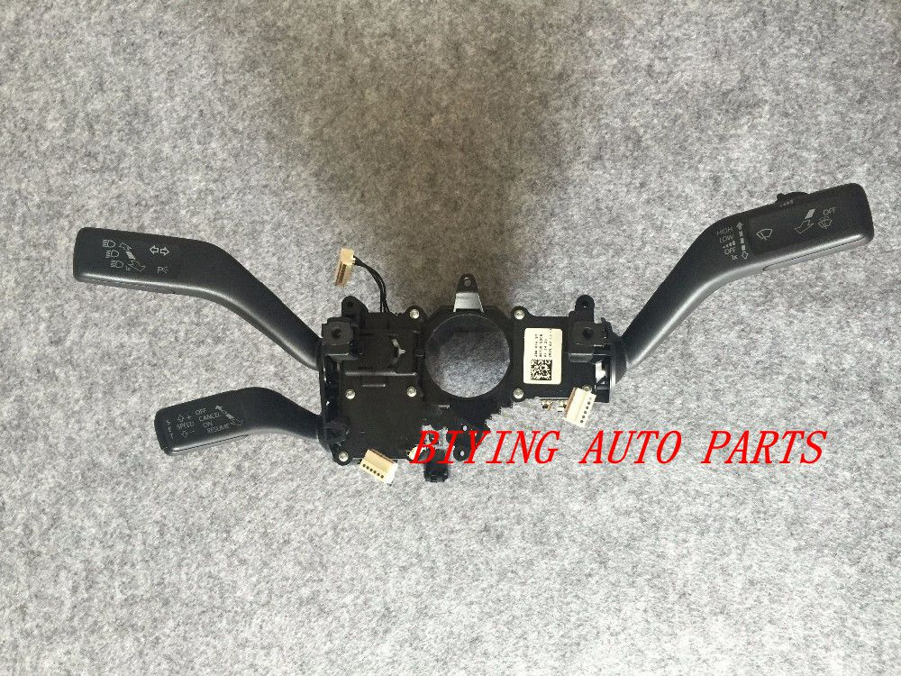 OEM Cruise Control System Stalk Switch Used for Passat B7 CC CCS 3C5953501BG 3C5 953 501 BG cruise control switch system ccs stalk harness fit for 2011 2013 new polo fabia 6rd 953 503 j