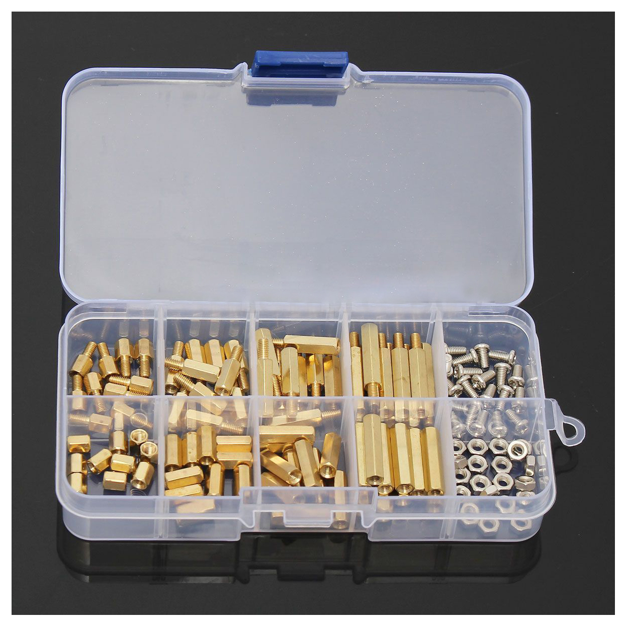 120pcs M3 Male Female Brass Standoff Spacer Pcb Board Hex Screws Nut Copper Silver Pillars Circuit Aeproductgetsubject
