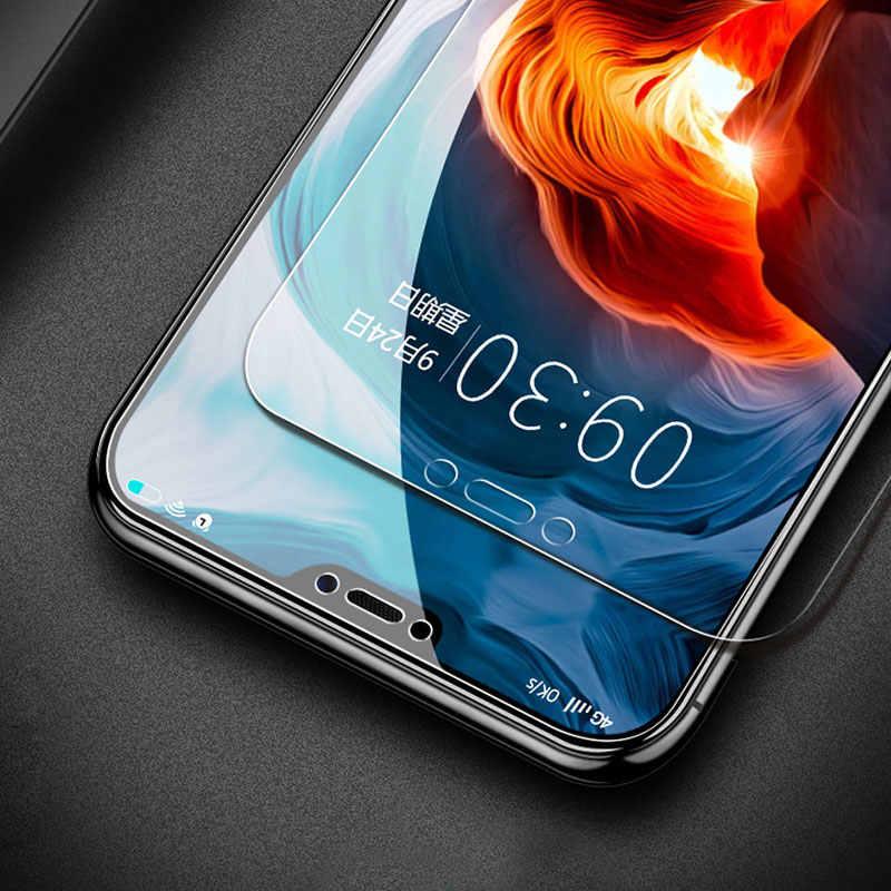 2 قطعة/الوحدة الزجاج المقسى لسامسونج غالاكسي J5 J4 J3 J6 J7 J8 A6 A8 زائد A7 J2 J250 2018 واقي للشاشة واقية