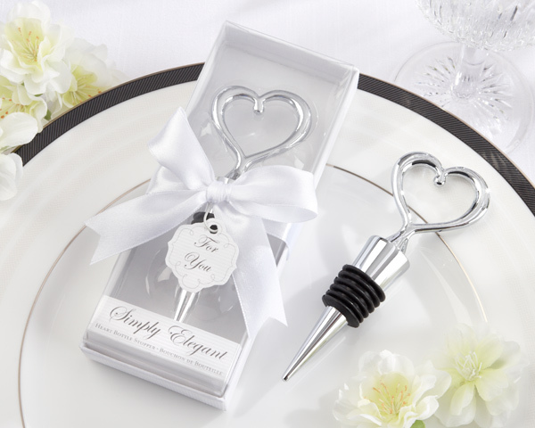 Free shipping 50pcs/lot wholesales zinc alloy heart wine stopper wedding favors and giveaway gifts party return goods for guest-in Party Favors from Home & Garden    1