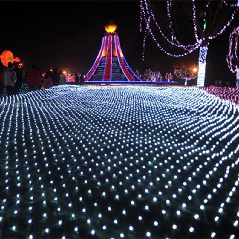 4 6M 750 Led Net String light AC220V Led Curtain Twinkle Lamp Garland Wedding Party Christmas