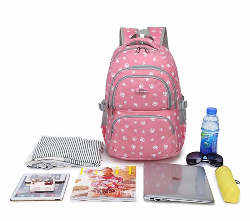 Fashion kids book bag breathable backpacks children school bags women leisure travel shoulder backpack mochila escolar infantil 14
