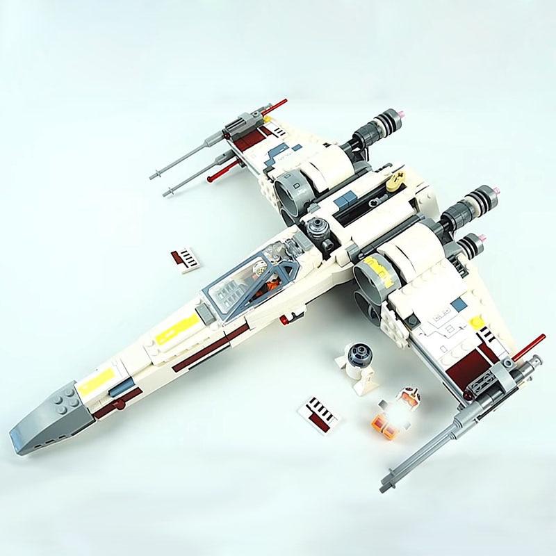 Lepin-05145-Starwars-Fighter-Star-Plan-Wars-X-75218-Wing-Starfighter-Model-Set-Building-Blocks-Bricks (2)
