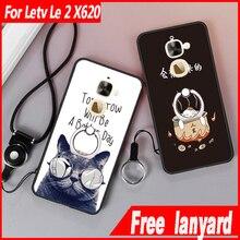 Для LeTV Le 2 чехол Полный Защитный 3D помощи ТПУ мягкий прозрачный корпус мультфильм телефон Обложка для LeTV Le 2 Pro X620 x528 X25