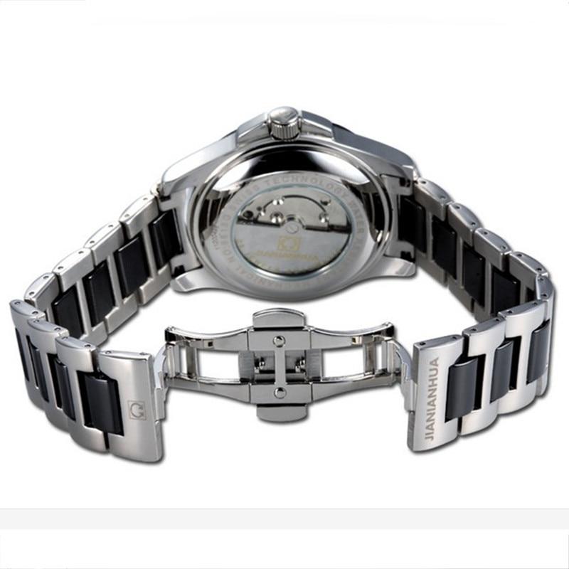 Бренд Alexis Elegnat стильный новый белый циферблат керамика Аквамарин женские часы браслет для женщин Дамы Часы Montre Femme - 6
