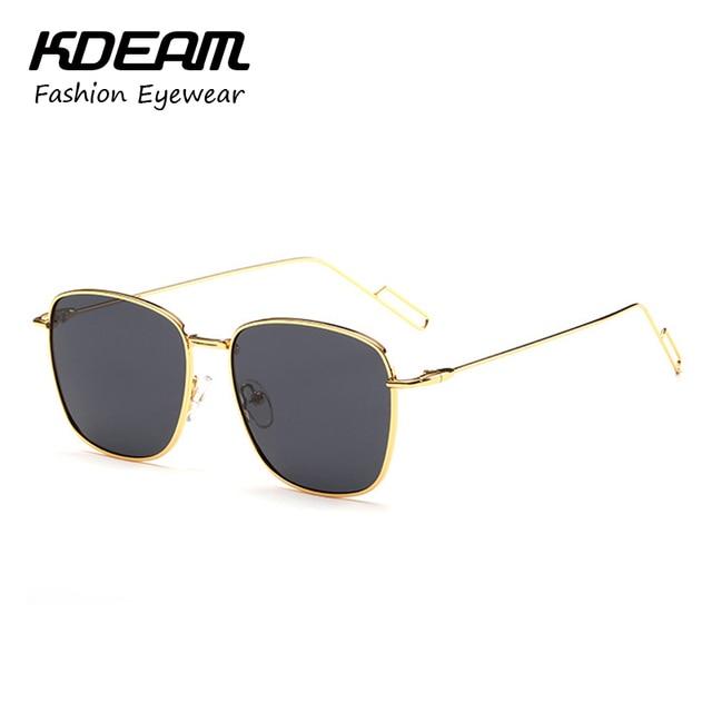 327faa75386d KDEAM Alloy Frame Polarized Sunglasses Men Anti-Glare Women Glasses  Polaroid With Slender Temple Lunette