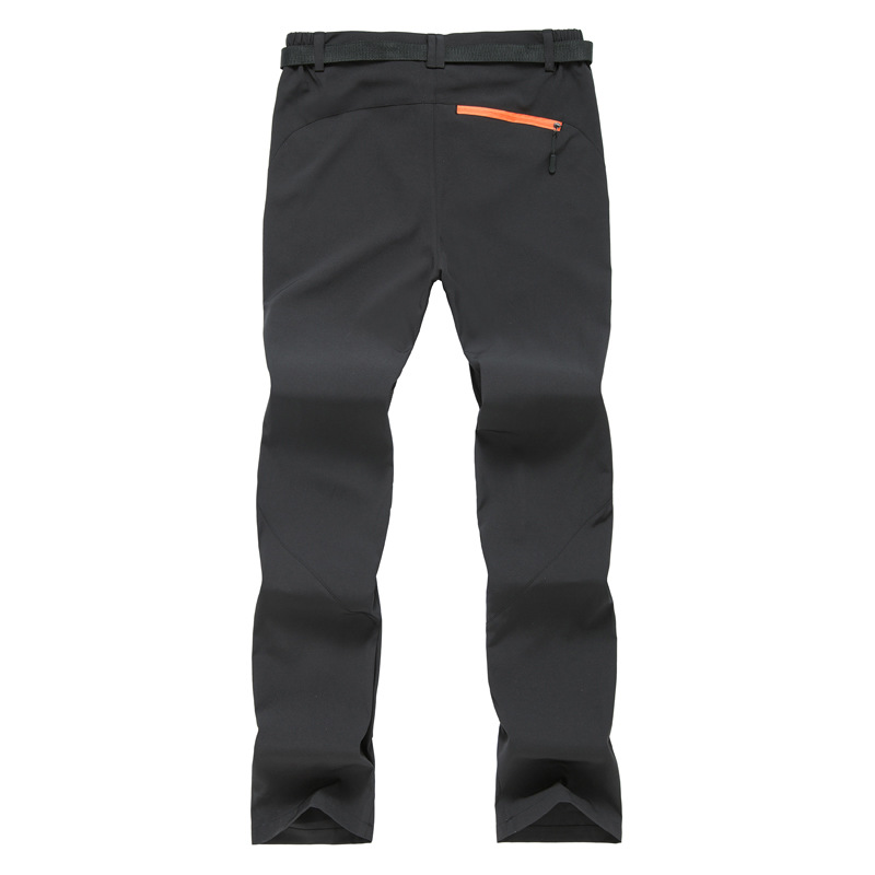 Mens Outdoor Pants Quick Dry Waterproof Walking Hiking Sport Trousers Breathable