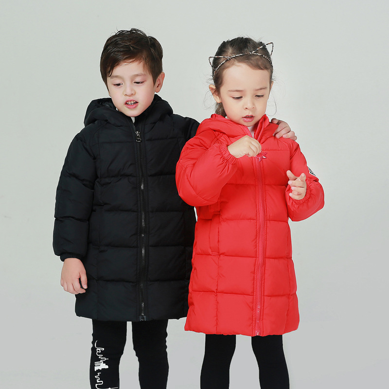 Winter Down Jacket for Girls Boy Coat Childrens Down Jackers for Boys Girl Wilder Jackets Kids Outerwears & Coats Down & Parkas 2017 winter down jackets for boys