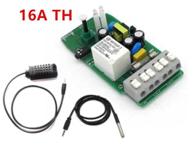 Sonoff ª WiFi Interruptor de Temperatura E Monitoramento de Umidade APP Telefone Sem Fio Controle Remoto para Smart Home TH16A + AM230 + DS18B20