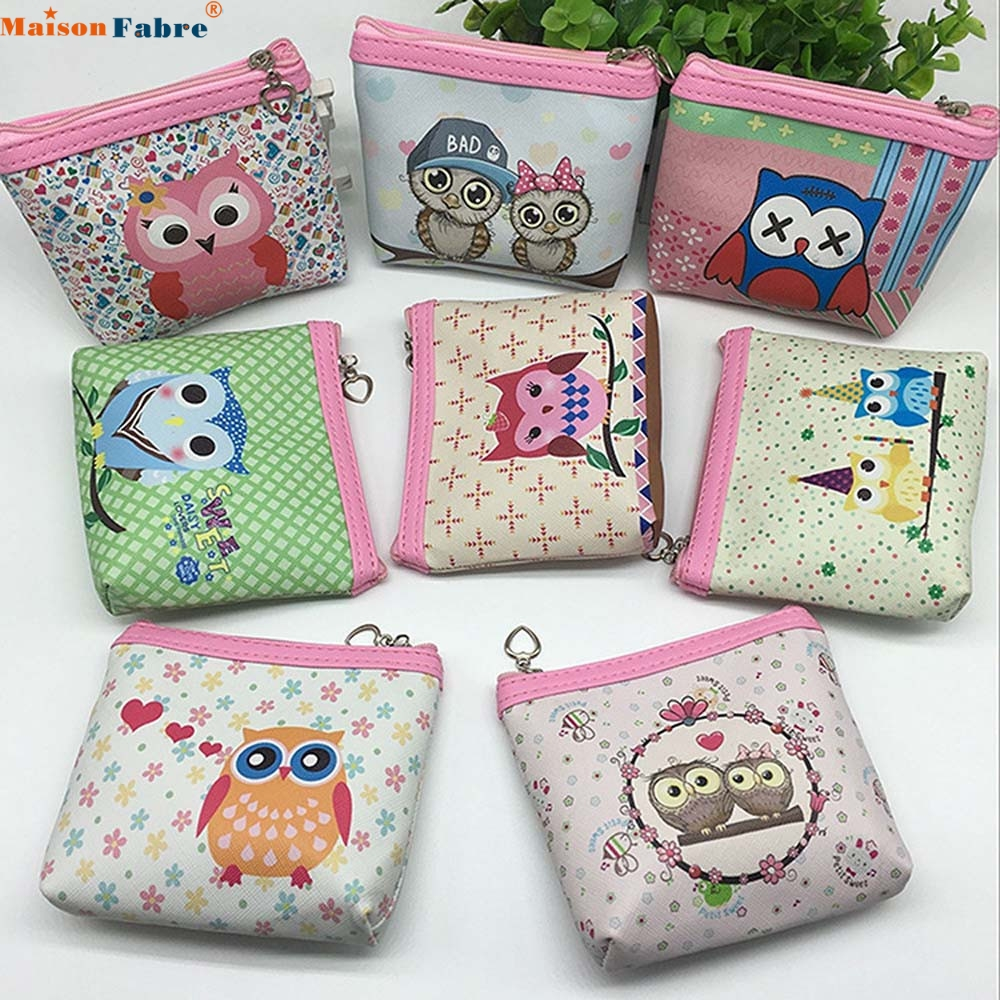Maison Fabre Jasmine Womens Owl Wallet Card Holder Coin Purse Clutch Handbag Dec30 drop shipping womens wallet card holder coin purse clutch bag handbag lightweight portable and fashionable with famous brand