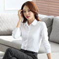 New  Women Shirts Long Sleeve Plus Size Blouse Tops Cotton Women's Blouses And Shirts Ladies Office Blouse White Shirt Female