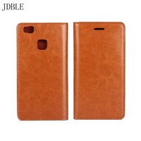Cowhide Genuine Leather Case Card Slot Phone Cover Case For Huawei Mate 7 9 S P8