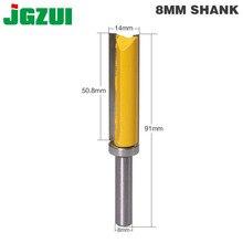1PC 8mm Shank szablon wykończenia zawias do dłutowania frez frez palcowy prosty czyszczenie trymera flush wykończenia frez tenonowy forWoodworking