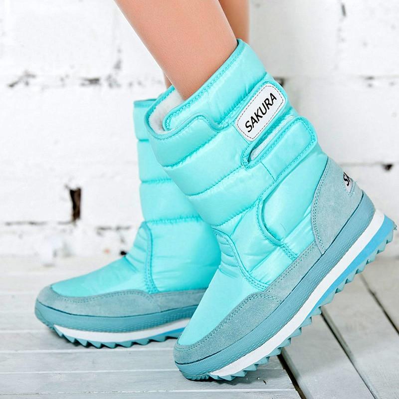 Fashion Women 2016 Plush Snow Boots Winter Warm Fur Platform Shoes Woman Ladies Ankle Boot Botas Mujer Zapatos Plus size 35-42 mebelvia beauty sleep via flex standart 100х190