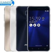 D'origine Asus ZenFone 3 ZE552KL Mobile Téléphone Qualcomm Octa Core 2.5D Gorilla Glass 4G RAM 64G ROM 1080 P 5.5 »16.0 M Smartphone